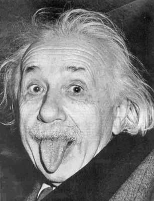 "This famous photo and popular poster of Albert Einstein was taken March 14, 1951, by UPI photographer Arthur Sasse. After an event at Princeton to honor Einstein on his 72nd birthday, Sasse and other photographers were desperately trying to convince Einstein to smile for the camera. Einstein was in a car returning from the event and was tired of smiling all day. When the photographers didn't let him alone he is said to have shouted: ""That's enough, that's enough!"" When these words didn't…"