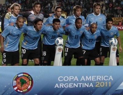 Uruguay Campeon de America 2011