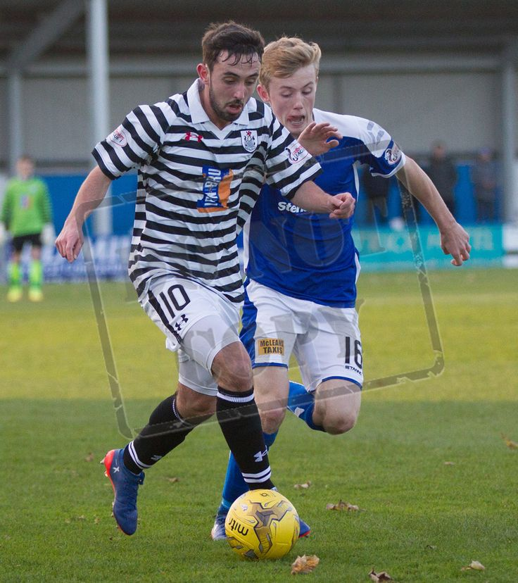 Queen's Park's Anton Brady in action during the Ladbrokes League One game between Stranraer and Queen's Park.