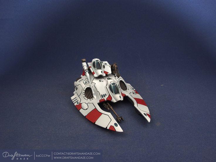 WH40k – Eldar – Night Spinner, Falcon, Fire Prism modular « Draftsman DAZE