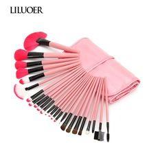 LILUOER belleza de alta calidad 24 unidades pinceles de maquillaje kit de maquillaje profesional completo(China (Mainland))