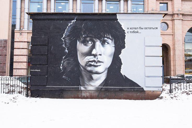рисунки на брандмауэрах санкт петербург