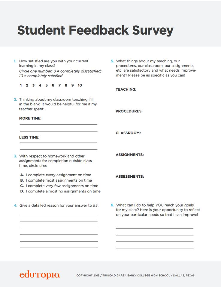 school surveys for students student feedback survey resources and downloads 241