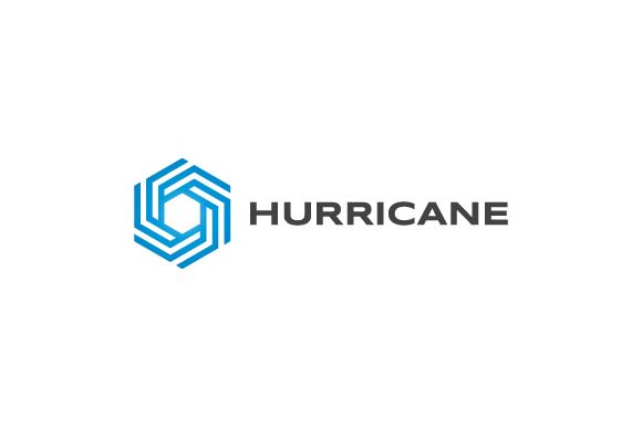 Hurricane - Symbol Logo by Logo Cosmos on Creative Market