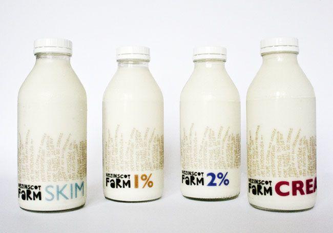 20 diseños de packaging que son la leche  Vía La Criatura Creativa