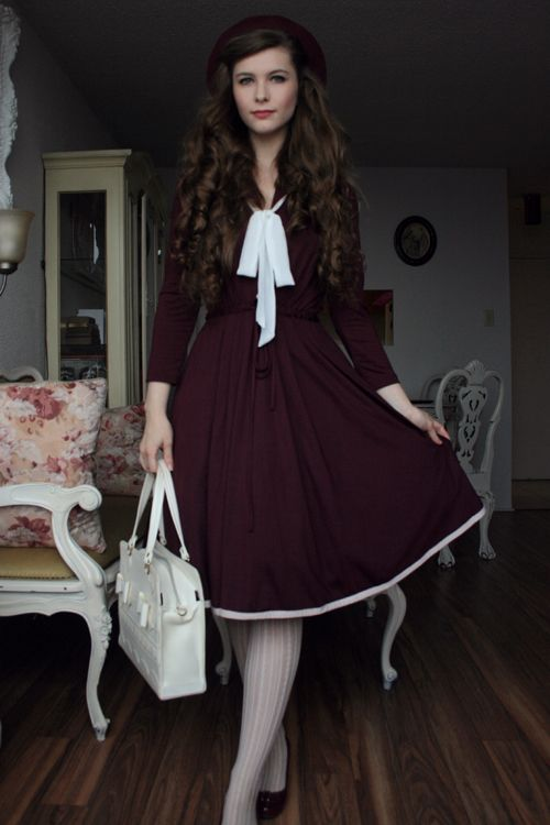 Dowdy Old Fashioned Clothes