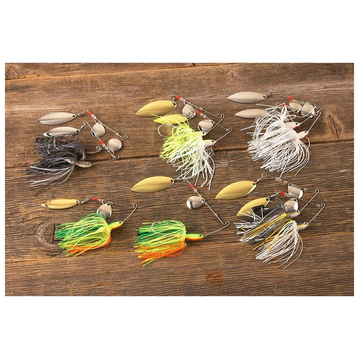 10-Pc. Set of Wahoo® Pro Select Spinnerbaits