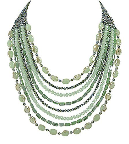925 Sterling Silver and Crystal Glass Lime Dark Green Multi-Row Graduated Women's Statement Necklace 20 inches 925e http://www.amazon.co.uk/dp/B018RGEXQ0/ref=cm_sw_r_pi_dp_k5w7wb1ZFYKEN