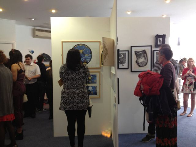 Graduate exhibition 2014