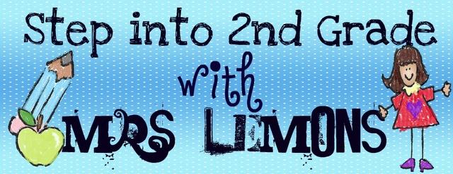 2nd grade blog...cute ideas!