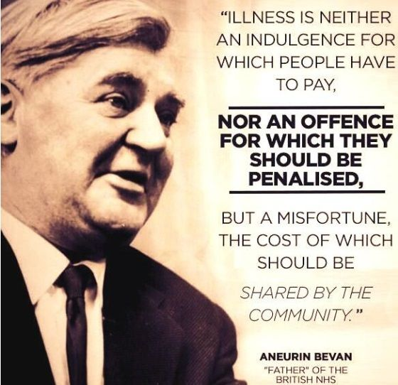 Image result for aneurin bevan nightmare