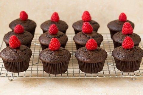 Dark Chocolate Cupcakes with Raspberry Buttercream Frosting | Cooking Classy