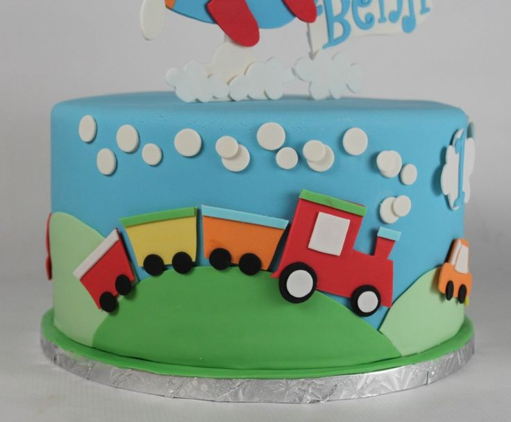 Planes Trains And Automobiles Cake Lil Miss Cakes