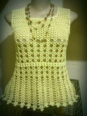 Artesanatos em croche e trico