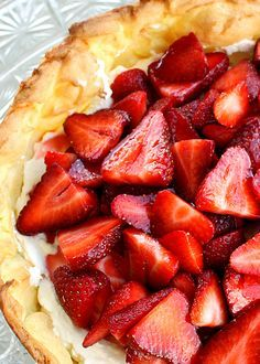 Strawberry Cream Puff Cake – light and airy like an eclair with sweetened cream and strawberries. Here in Florida, they are practically giving strawberries away. We had an unusually cold winter which delayed the strawberry crops. Usually in January Florida is the main strawberry provider for the country…but since they were delayed and being sold now, the same …