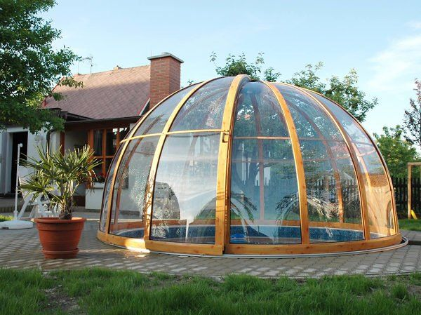 Pool Enclosure Orient Fits Great Especialy On Round Pools In 2020 Pool Enclosures Round Pool Patio Enclosures