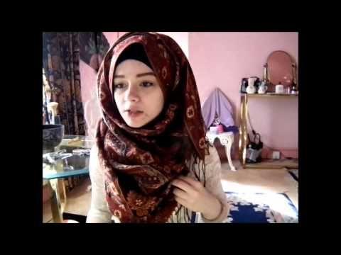 Hijab tutorial - Loose messy fat hijab