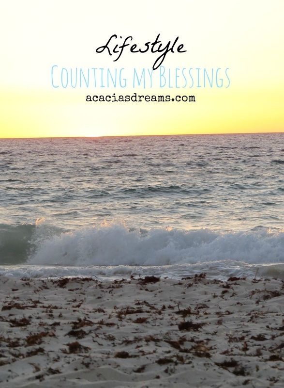 Counting My Blessings - August | acaciasdreams.com