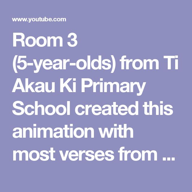 Room 3 (5-year-olds) from Ti Akau Ki Primary School created this animation with most verses from the book Row, row, row your waka. They entered it into the MADE Awards and came in 2nd place up against entries from all over New Zealand and older children. What an achievement!