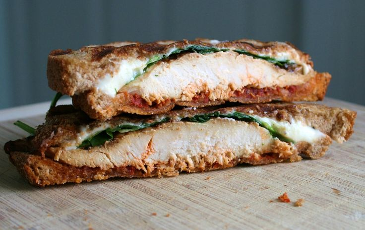 Tuscan grilled chicken panini with mozzarella, spinach, sun-dried tomato pesto on rustic bread and topped with a parm-peppercorn sauce! Description from pinterest.com. I searched for this on bing.com/images