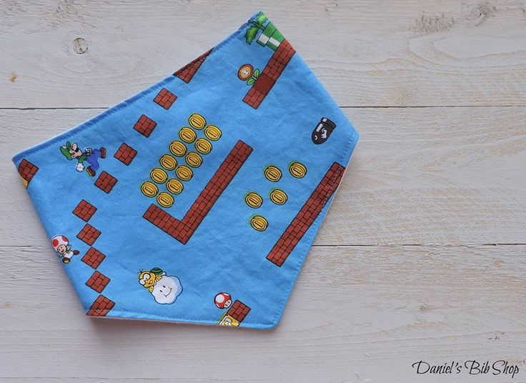 Handmade Nintendo Bibdana