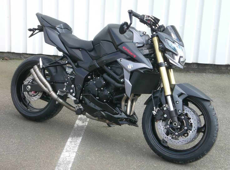 GSR 750 Matt black