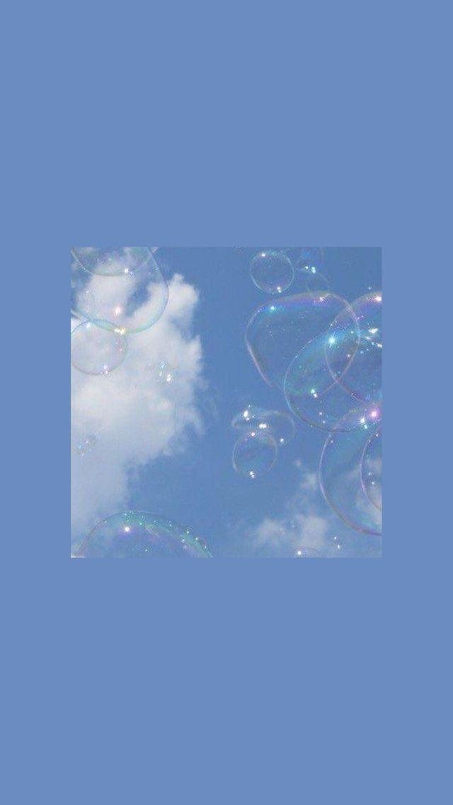 Kathryn On Twitter Blue Wallpaper Iphone Pastel Aesthetic Aesthetic Iphone Wallpaper