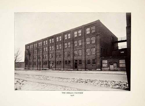1926 Print Orillia Factory Heywood Wakefield Company Ontario Canada Furniture | eBay