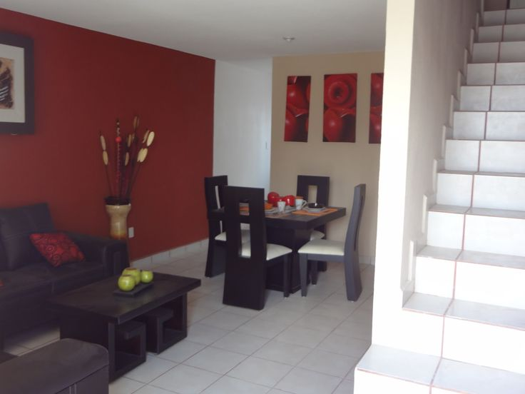 Decoracion de salas comedor para casas de infonavit - Casas provenzales decoracion ...