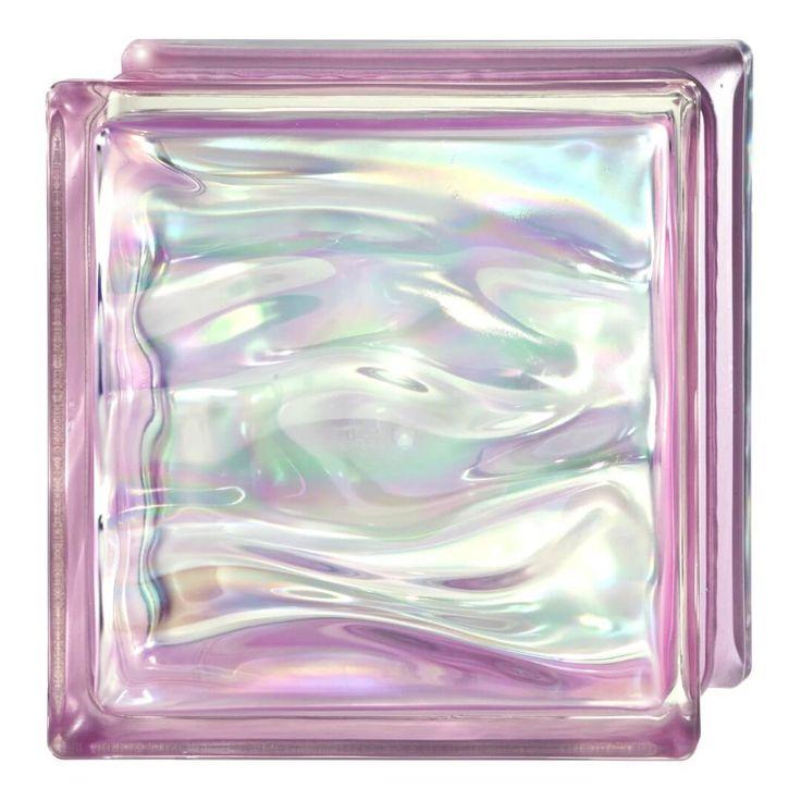 Paves cuadrado novo prestige agua reflejos amatista de 190x190x80mm, puedes colocarlo en tu fachada o en tu mampara de baño.