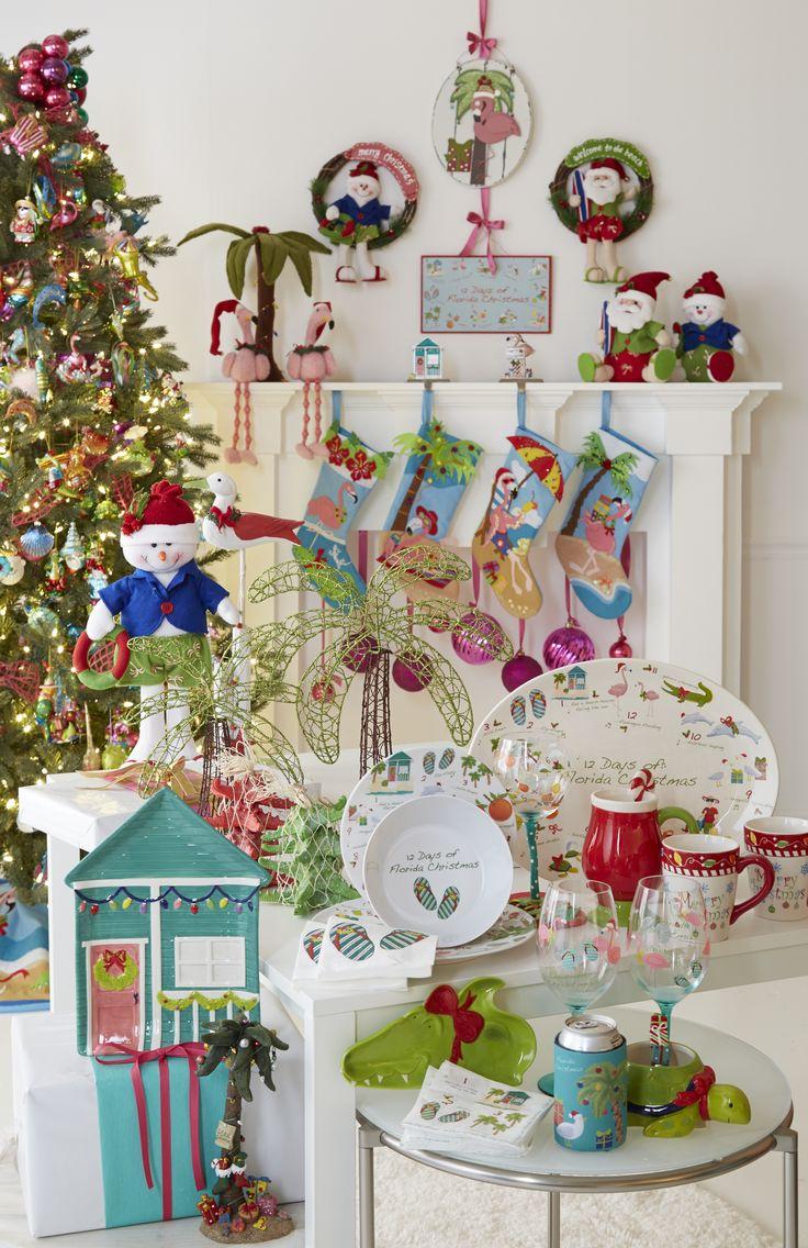 Florida christmas ornament - Unique Florida Christmas Holiday Decor Inspiration Beallsflorida