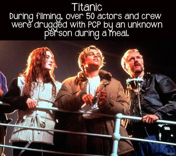 Behind the scenes of some great movies and tidbits you probably didnt know (18 photos)