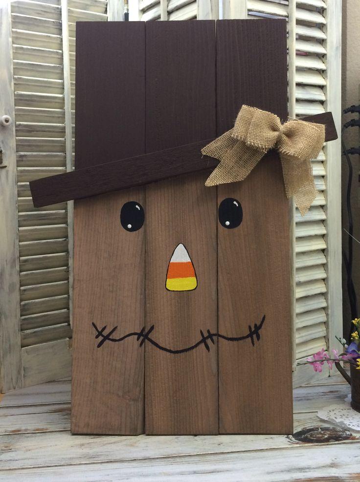 Diy Scarecrow Made From Cedar Pickets Diy Crush Link