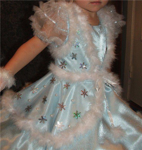 освещения платье снежинки своими руками фото что-то