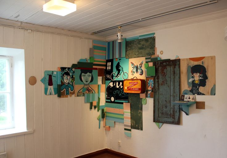 OVERVIEW OF INSTALLATION OF ARTIST IN RESIDENCE, FINLAND 2011.