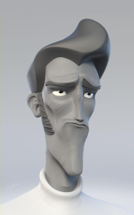 Daily sketch 3d sculpt on Behance
