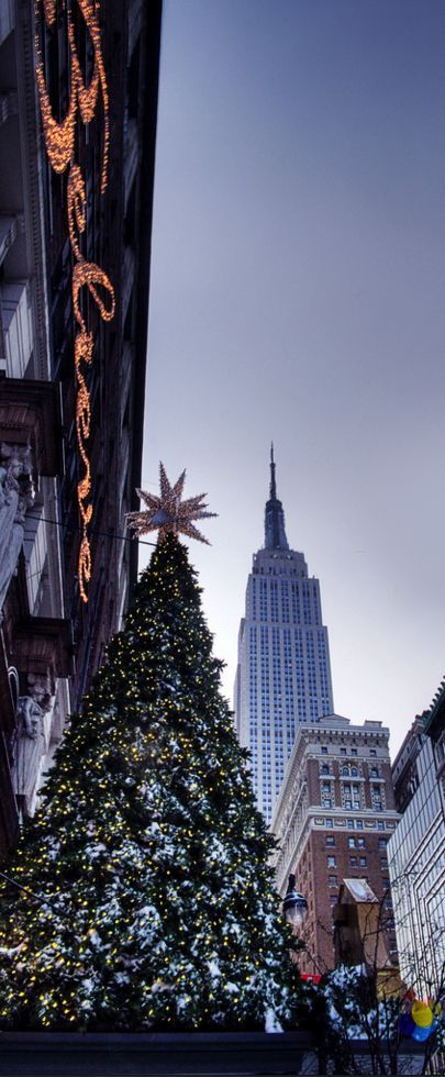 Christmas in New York City, USA