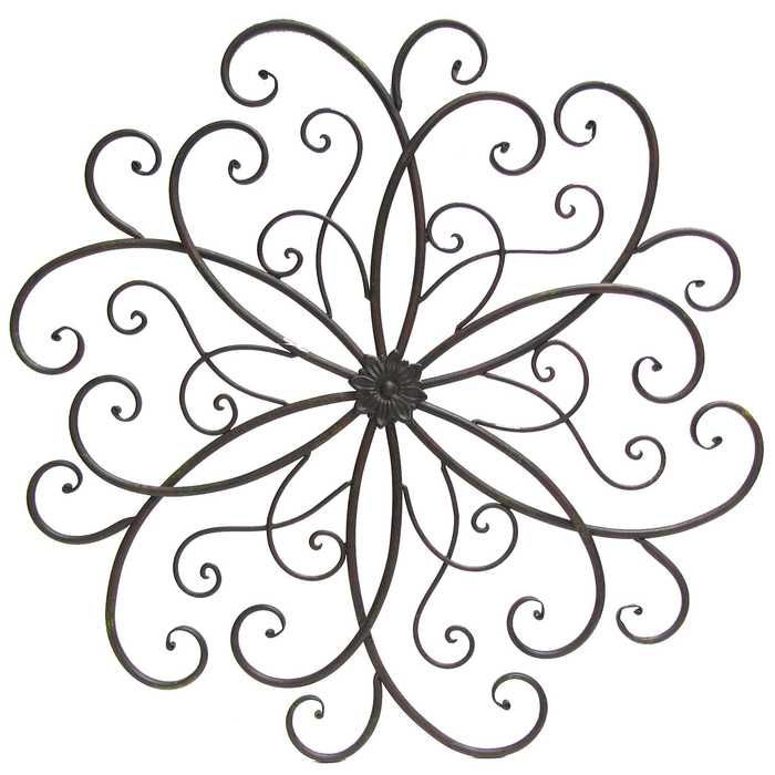 Hobby Lobby Rusty Round Scroll Metal Wall Decor | Wrought ... on Hobby Lobby Outdoor Wall Decor Metal id=20830