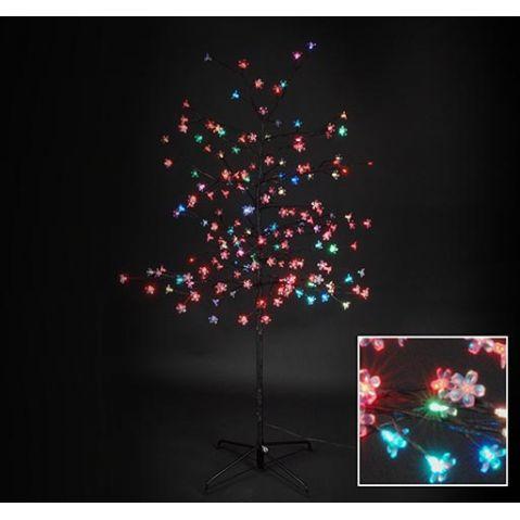 led bloesem boom 180 lampjes 150cm multicolour decoratieve kerstverlichting kerstverlichting koopkerstverlichtingnl kerst pinterest