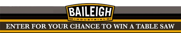 #Giveaway ~ WIN A BAILEIGH TS-1040P-30 RIVING KNIFE 10-IN. TABLE SAW $2095.00 MSRP. Ends 02/26/15. Feel free to re-pin!