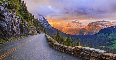 Going to the Sun Road, Glacier Park, MT