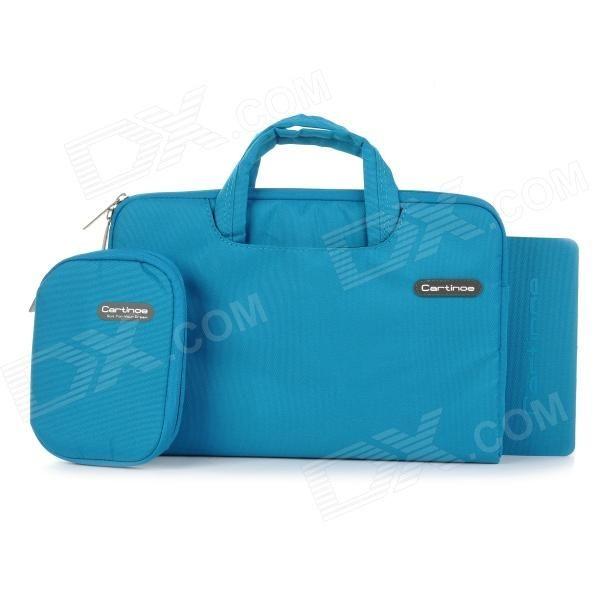 "Cartinoe Laptop Inner Bag   Coin Purse   Mousepad for Apple MacBook Air / Pro 11.6"" Tote Bag - Blue Price: $21.99"