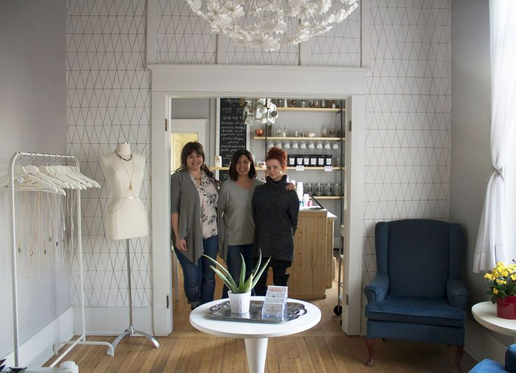 The local entrepreneurs behind Crafted, Salt Water Tea and Mint & Daisy join forces to open a brick-and-mortar store.