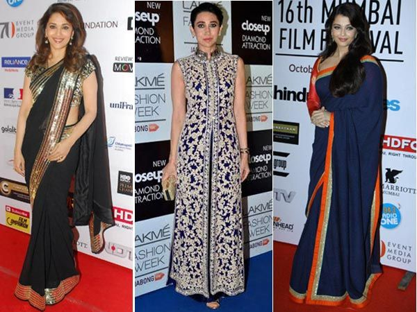 The spirit of Diwali is everywhere and B-townies are on a festive roll. We spotted quite a few Bollywood actresses showing of their festive style at media events, film launches and fashion weeks. Take a look and be sure to tell us who makes it to your uber hot list.Image Courtesy: BCCL, IANS Don't Miss! B-Townies Who Desperately Need a Stylist