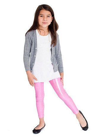 american apparel kids shiny leggings kid stuff shiny