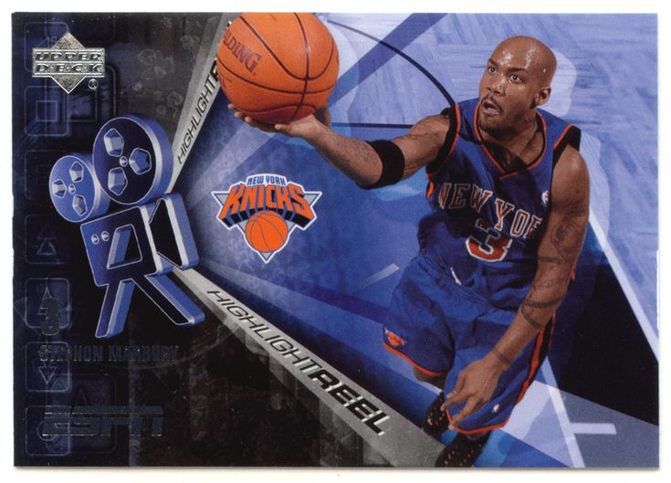 Stephon Marbury # HR-14 - 2005-06 Upper Deck ESPN Basketball Highlight Reel