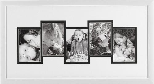 Ramka do zdjęć 33x63 Retto biała - Ramki - Artykuły Dekoracyjne - Meble VOX#vox  #wystrój #wnętrze #aranżacja #urządzanie #inspiracje #pomysły #pomysł #design #room #home #DIY #HomeDecor #fruniture #design #interior #interiordesign  #ramki #ramka #zdjęcie