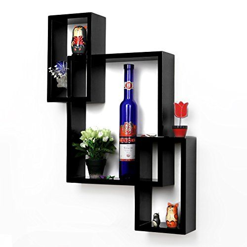 Uniifurn Intersecting Rectangle Decorative Wall Shelf Wood Set of 3 Black Uniifurn http://www.amazon.com/dp/B00RXRV2UA/ref=cm_sw_r_pi_dp_GD6bvb170DAQ7