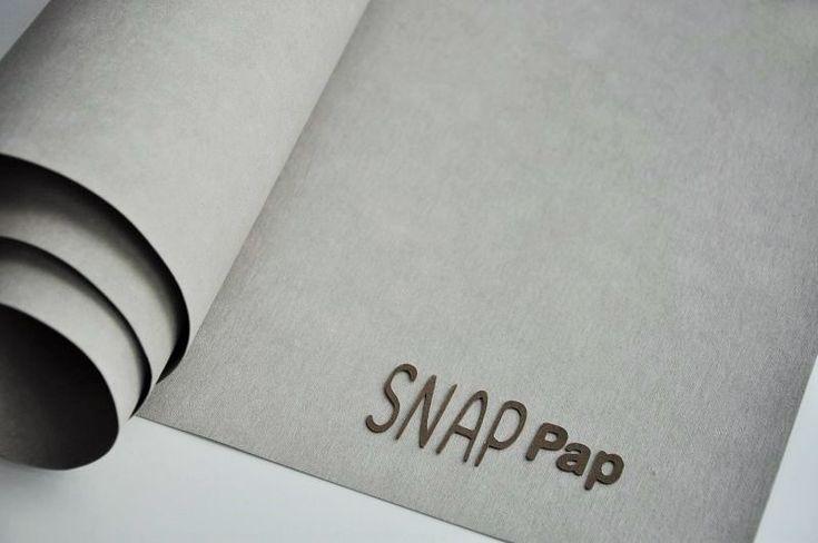 SnapPap ist ein waschbares Papier in Lederoptik, das aus einer Papier-Kunststoff-Mischung besteht. Es ist 100% vegan. Durch seine einzigartige Beschaffenheit ist dieses neue Material vielseitig einsetzbar! Der Fantasie sind keine...