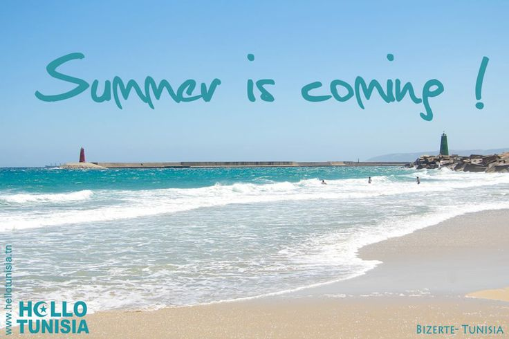 Summer is coming! - Hello TUNISIA
